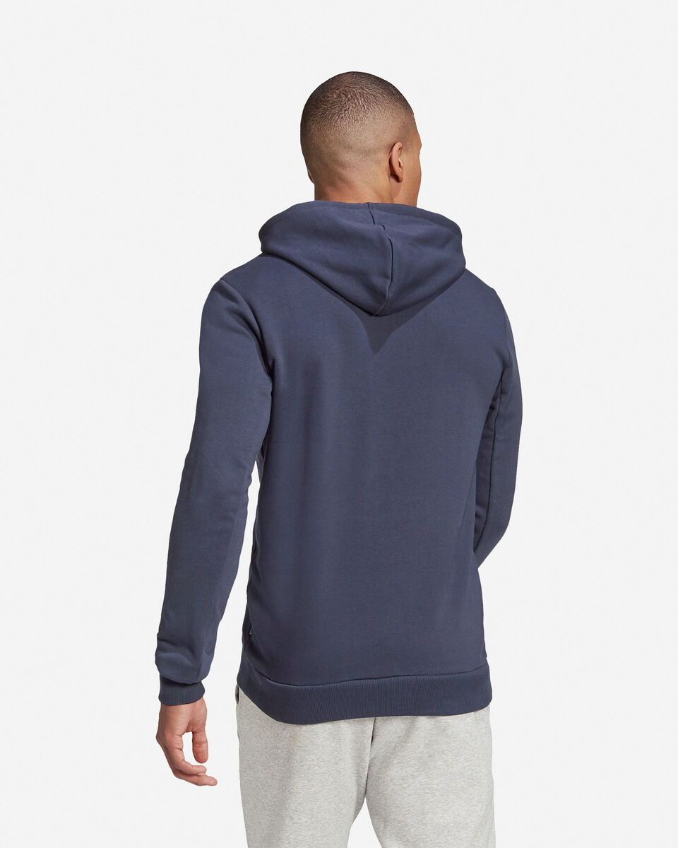 Felpa ADIDAS BADGE OF SPORT FRENCH TERRY HOODIE M S5219260 scatto 4