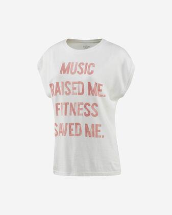 T-Shirt training REEBOK STONE WASH MUSCLE W