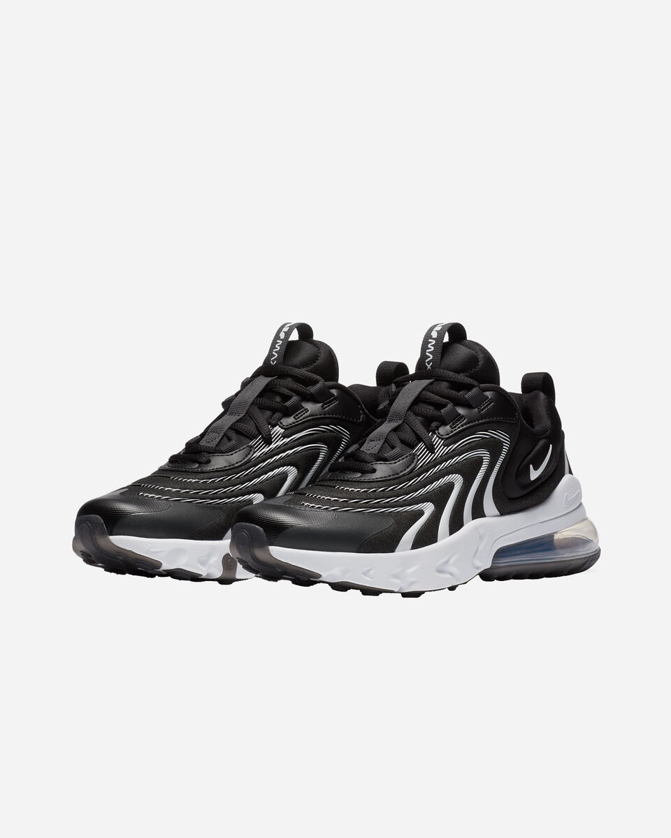 Scarpe sneakers NIKE AIR MAX 270 REACT ENG GS JR S5223505 scatto 1