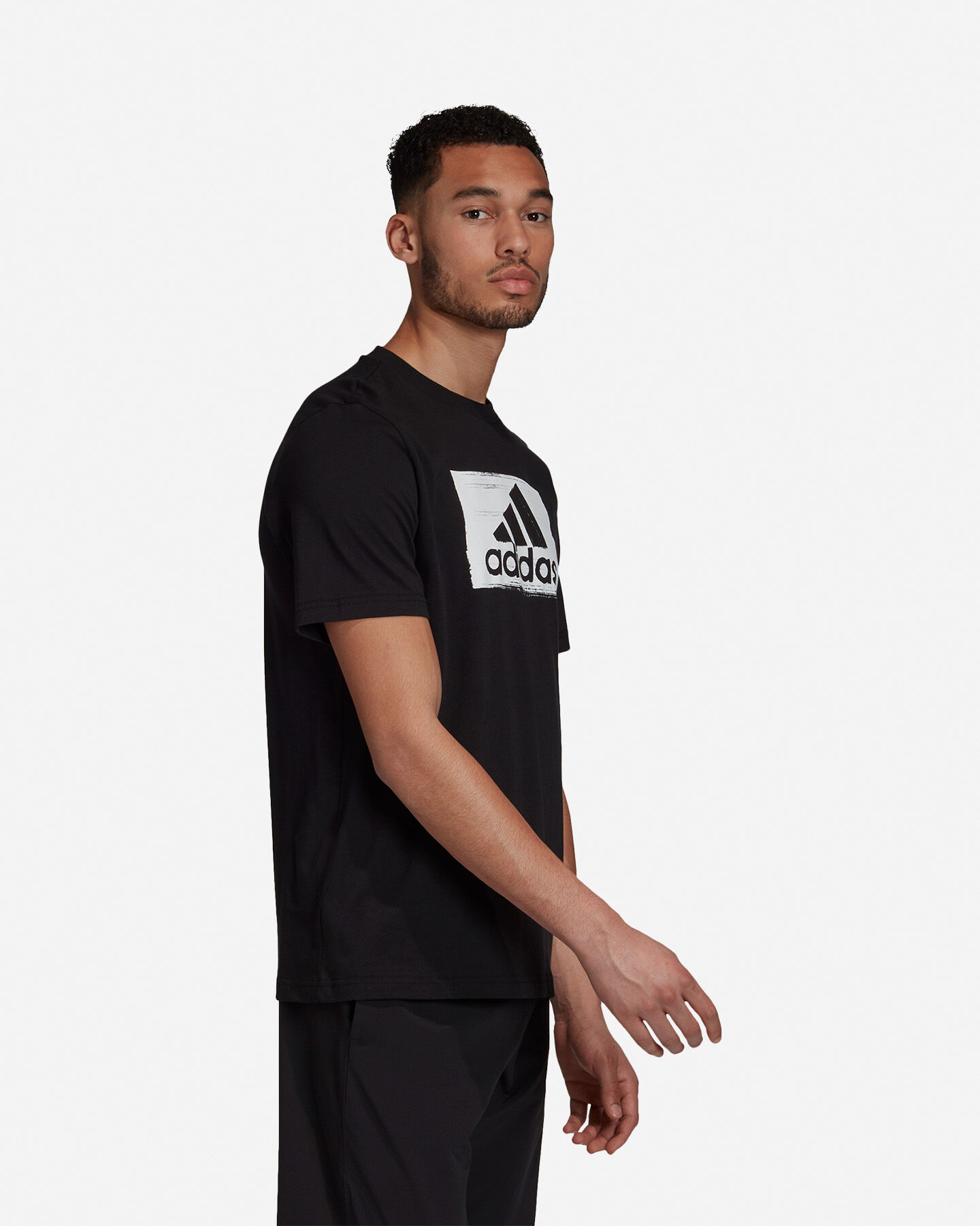 T-Shirt ADIDAS BRUSHSTROKE M S5211283 scatto 4