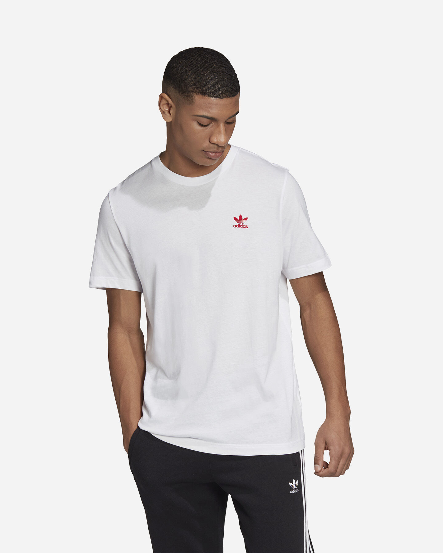 T-Shirt ADIDAS SMALL LOGO M S5210267 scatto 2