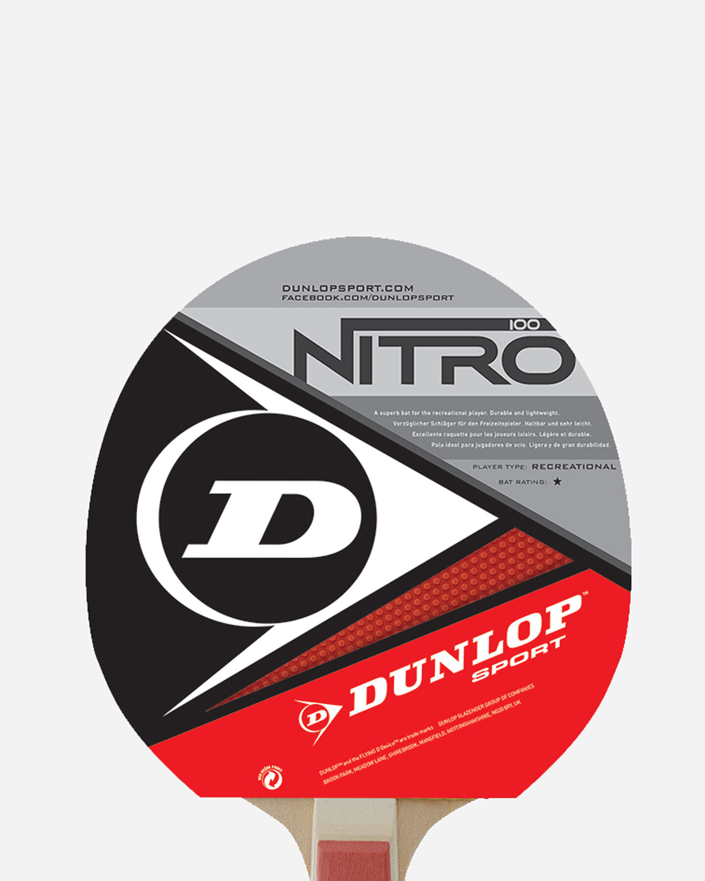 Accessorio ping pong DUNLOP NITRO POWER S4010045|1|UNI scatto 1