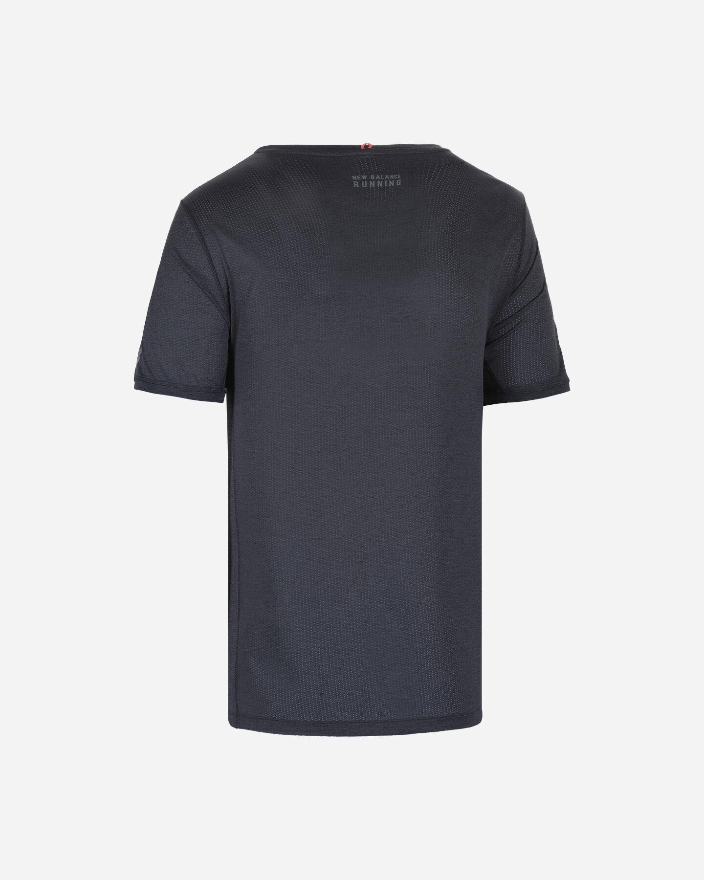 T-Shirt running NEW BALANCE PRINTED IMPACT RUN M S5166295 scatto 1