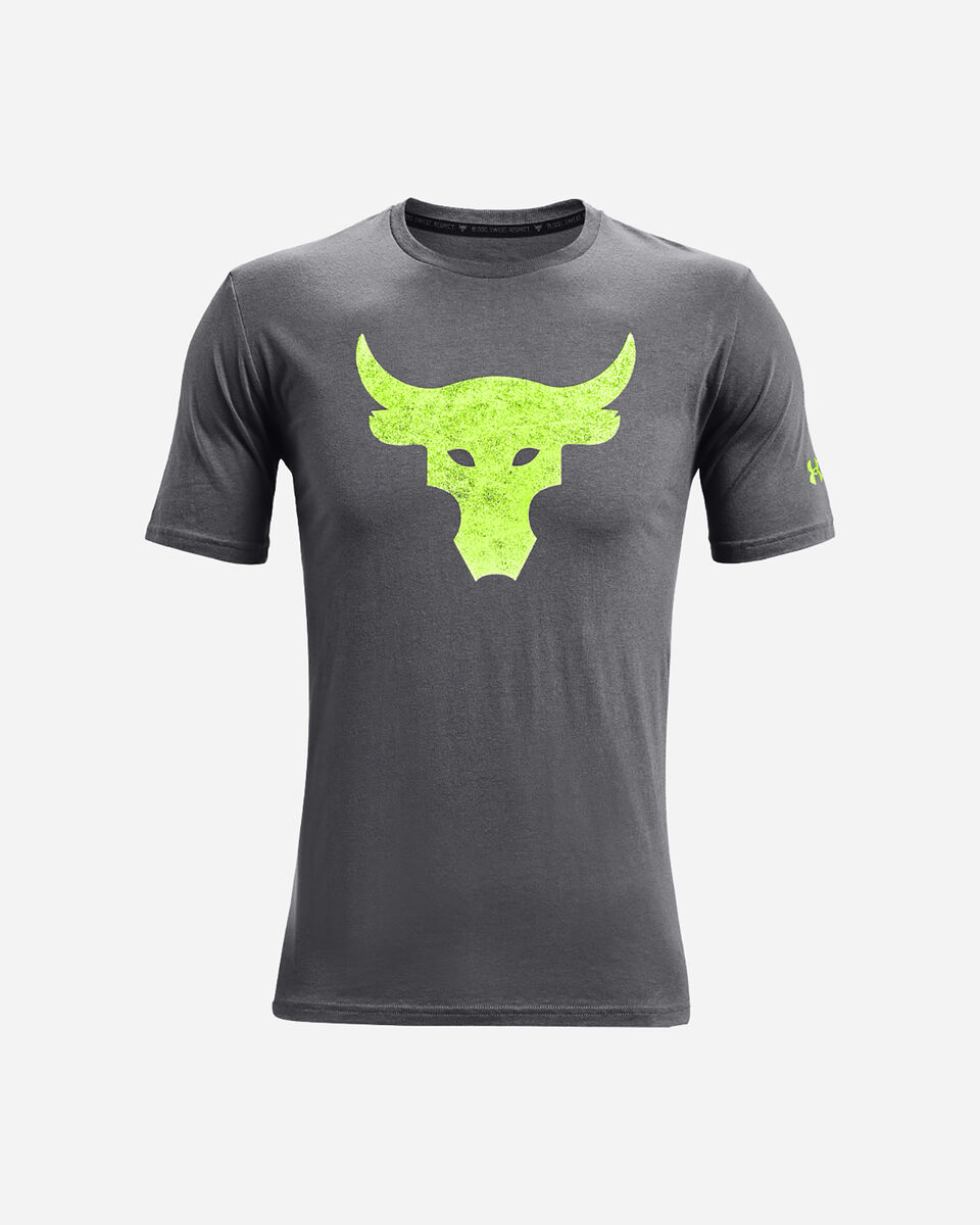 T-Shirt UNDER ARMOUR THE ROCK BULL LOGO M S5300568 scatto 0