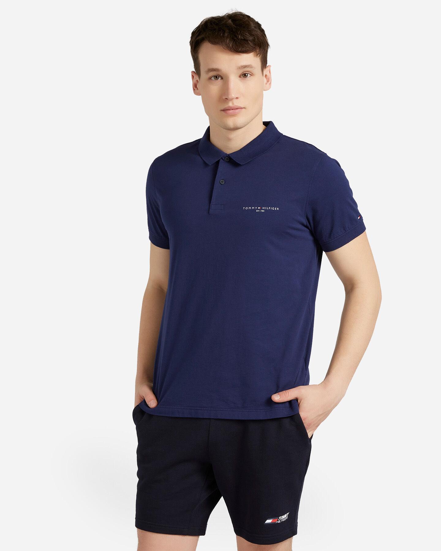 T-Shirt TOMMY HILFIGER CLEAN SLIM M S4089536 scatto 0