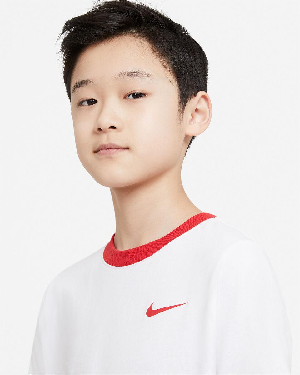 T-Shirt NIKE BIG SWOOSH BACK JR S5270253 scatto 2