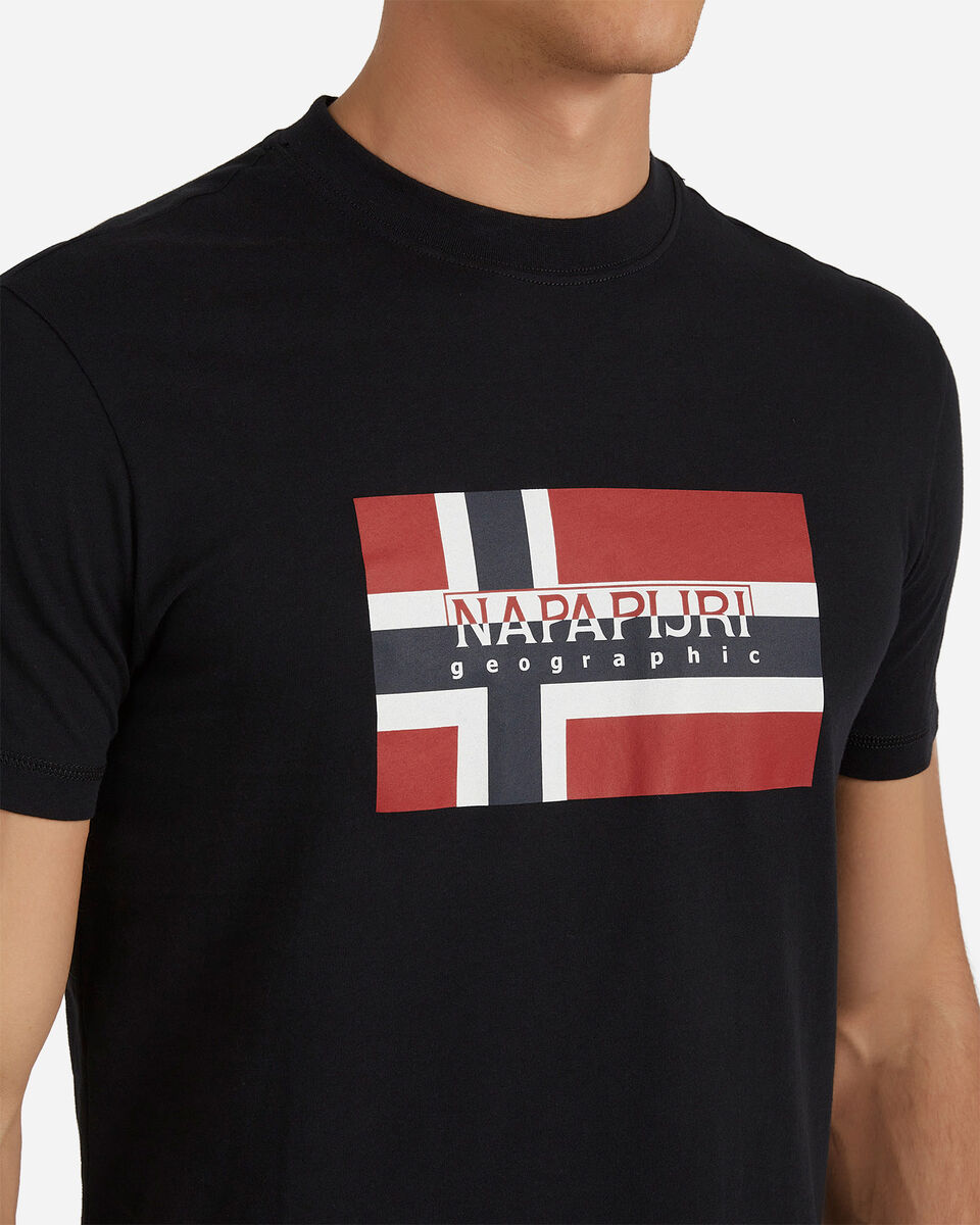 T-Shirt NAPAPIJRI SOVICO M S4077612 scatto 4
