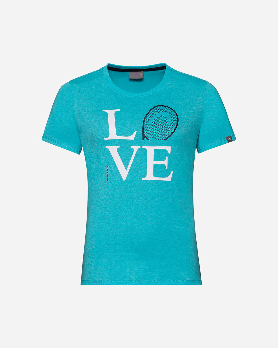 T-Shirt tennis HEAD LOVE W S5304519 scatto 0