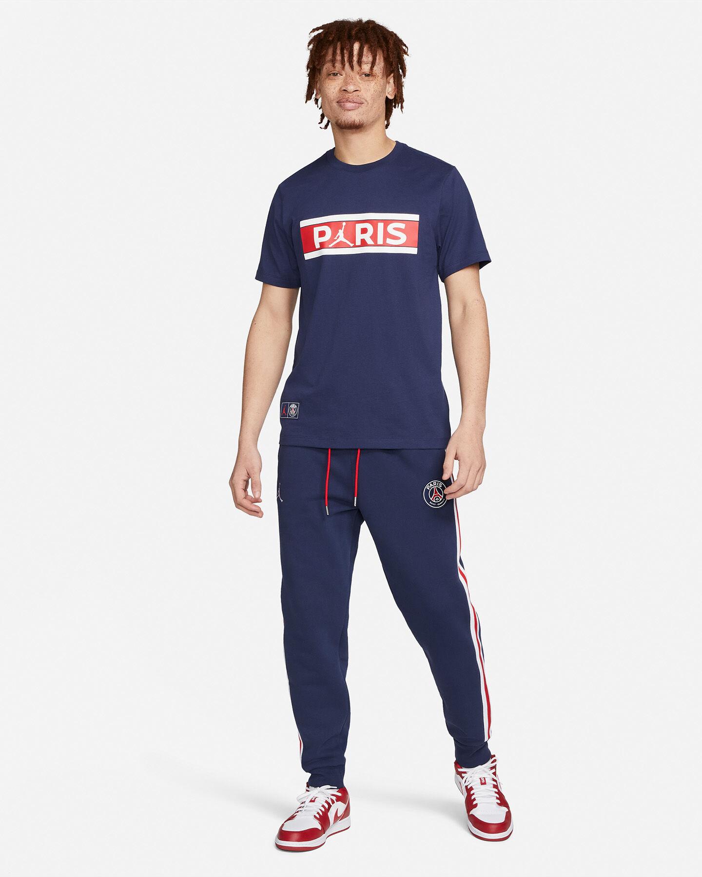 T-Shirt NIKE JORDAN PSG LOGO M S5301878 scatto 4
