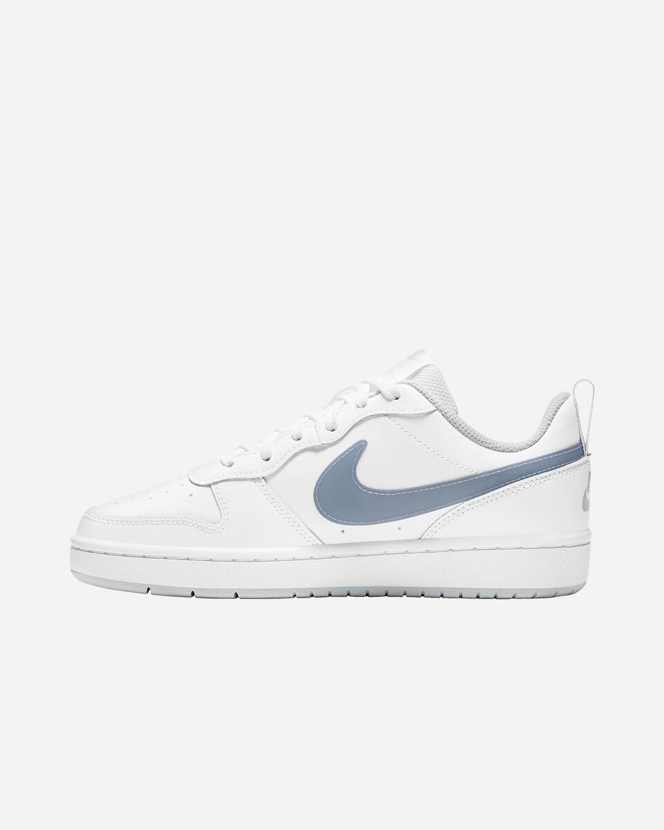 Scarpe sneakers NIKE COURT BOROUGH LOW 2 GS JR S5268507 scatto 5