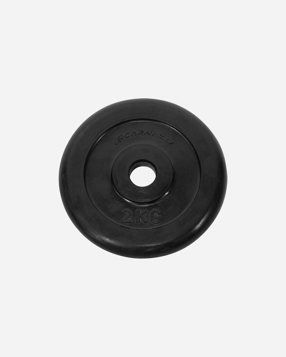 Disco ghisa CARNIELLI DISCO GOMMATO 2 KG S1129955|9999|UNI scatto 0