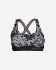 FITNESS donna UNDER ARMOUR MID CROSSBACK PRINT W