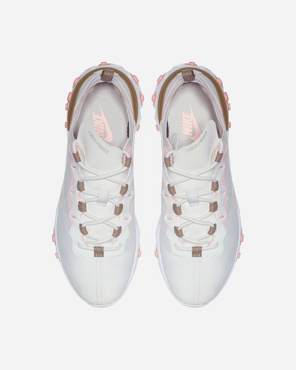 Scarpe sneakers NIKE REACT ELEMENT 55 W S5197490 scatto 3