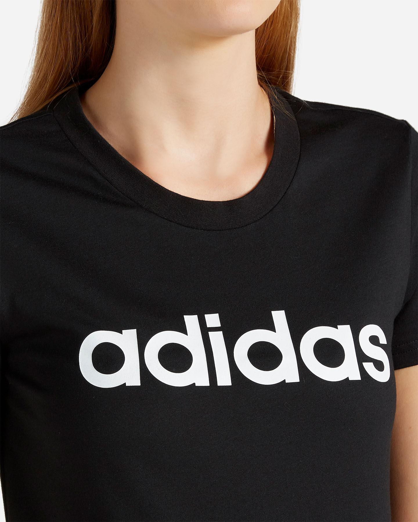 T-Shirt ADIDAS ESSENTIALS LINEAR W S2013812 scatto 4