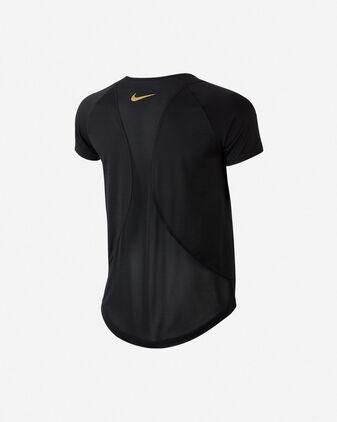 T-Shirt running NIKE NK TOP 10K GLAM W