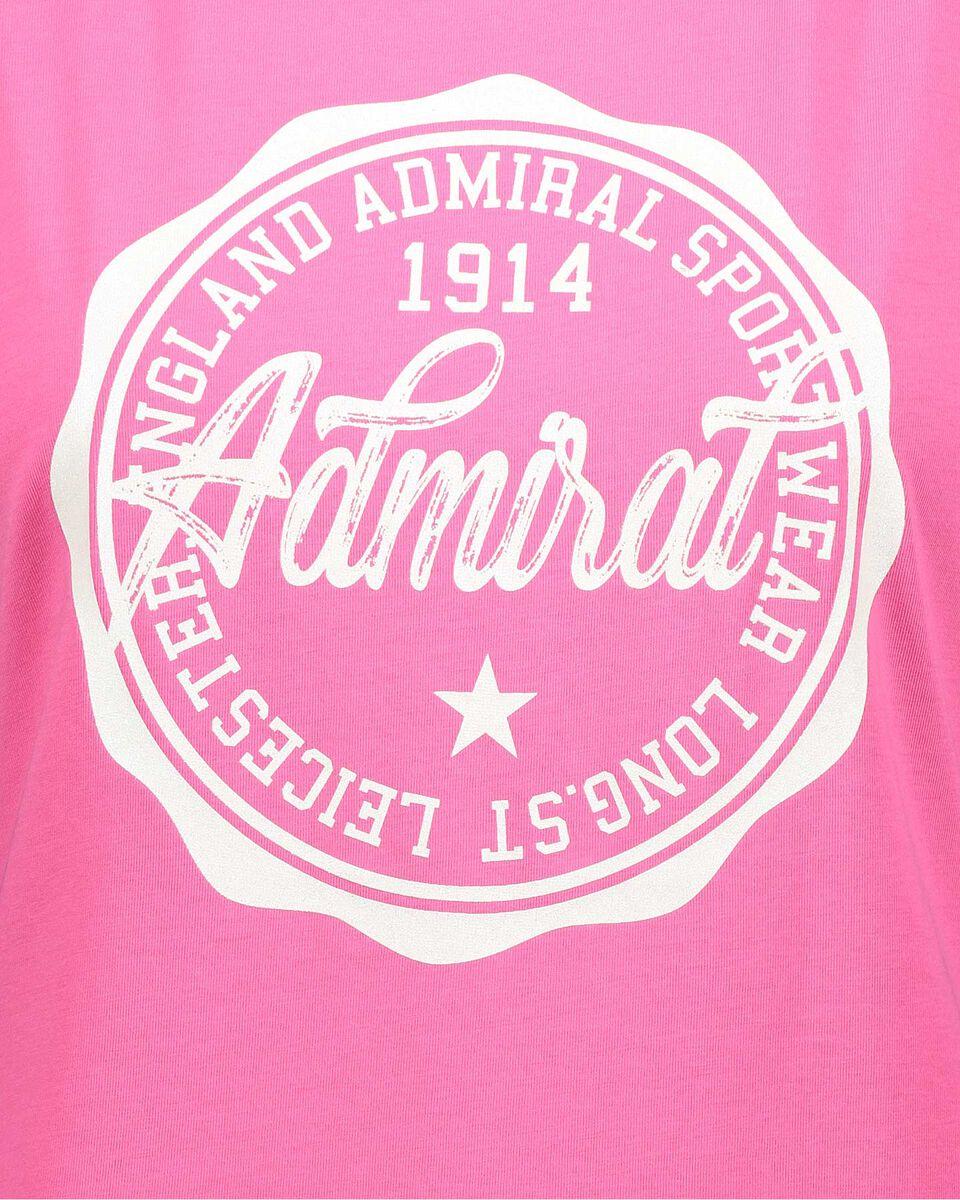 T-Shirt ADMIRAL BIG LOGO VARSITY W S4087705 scatto 2
