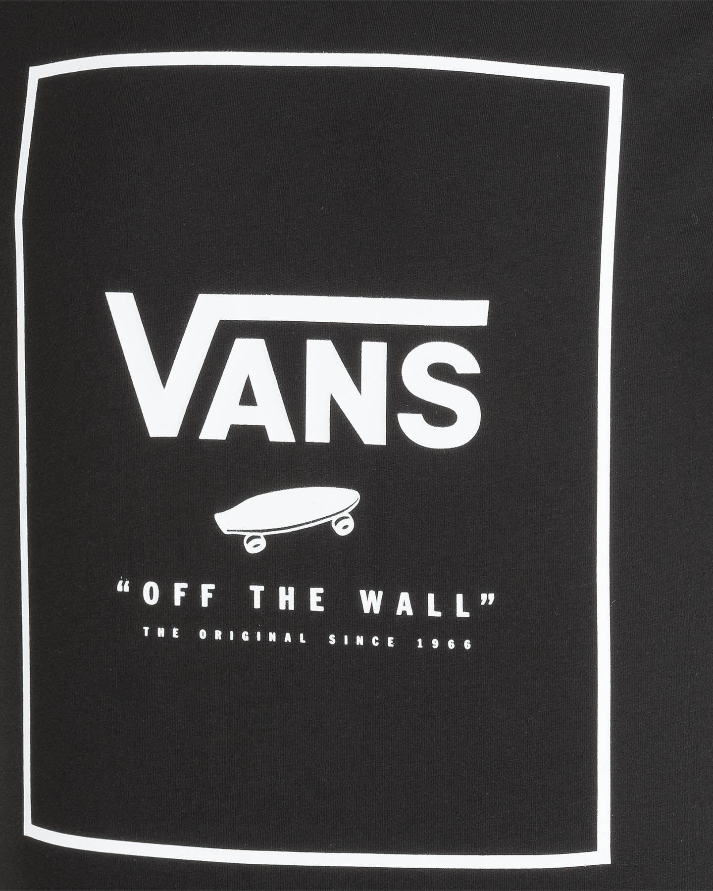 T-Shirt VANS M MC BOX M S5245556 scatto 2