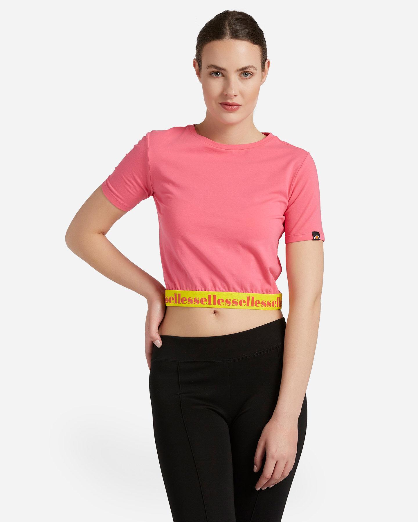 T-Shirt ELLESSE CROP ELASTIC W S4087993 scatto 0