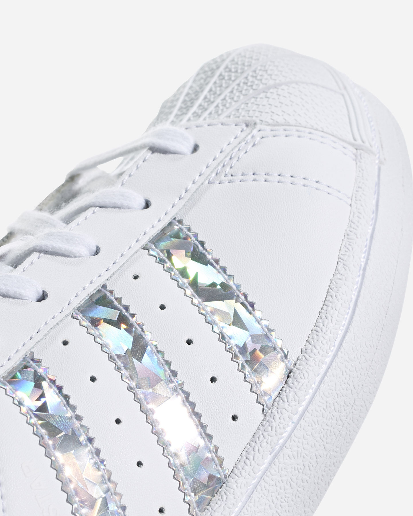 Scarpe sneakers ADIDAS SUPERSTAR GS JR S2015413 scatto 4