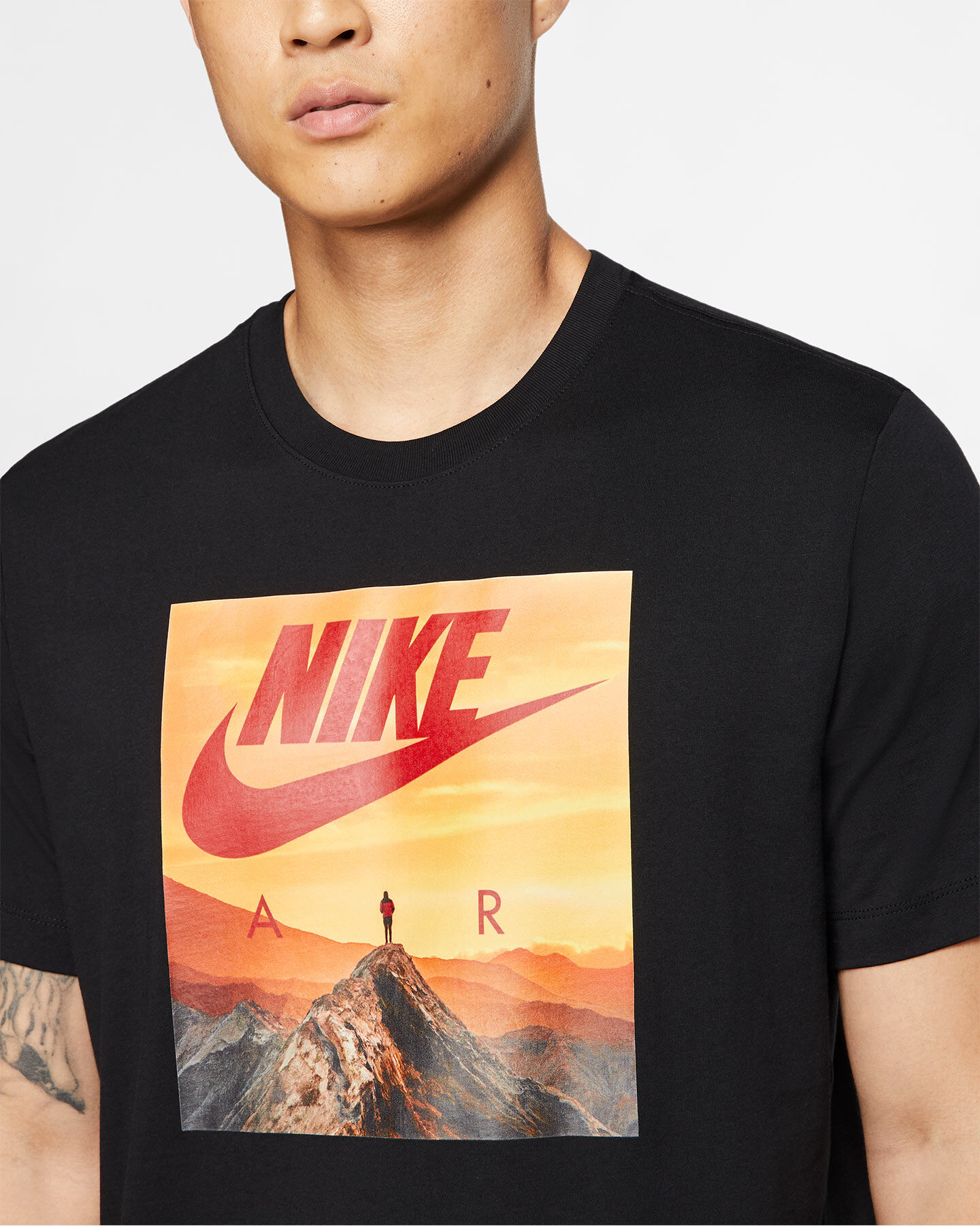 T-Shirt NIKE AIR PHOTO M S5164800 scatto 5