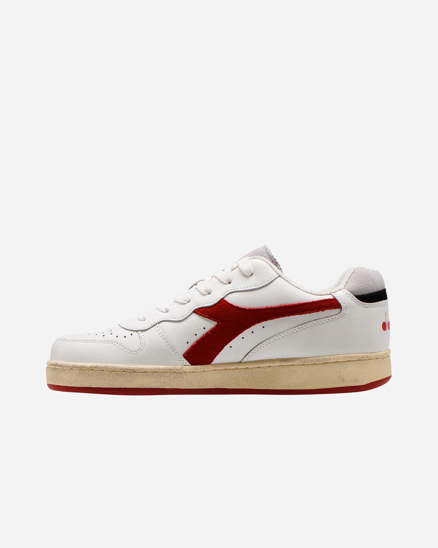 Scarpe sneakers DIADORA MI BASKET LOW USED M S5226859 scatto 5