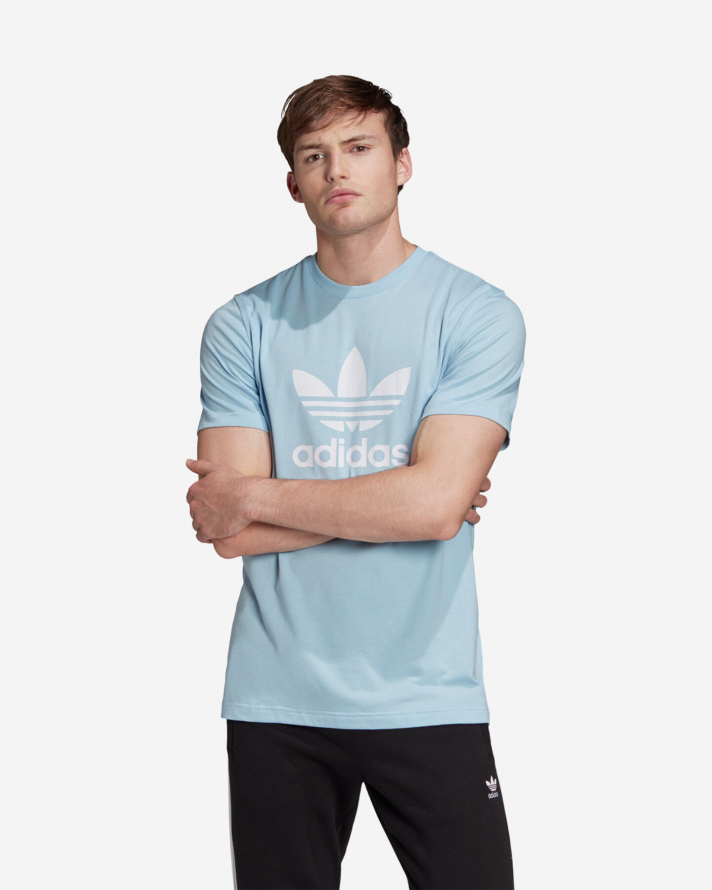 T-Shirt ADIDAS TREFOIL ADICOLOR M S5148483 scatto 2