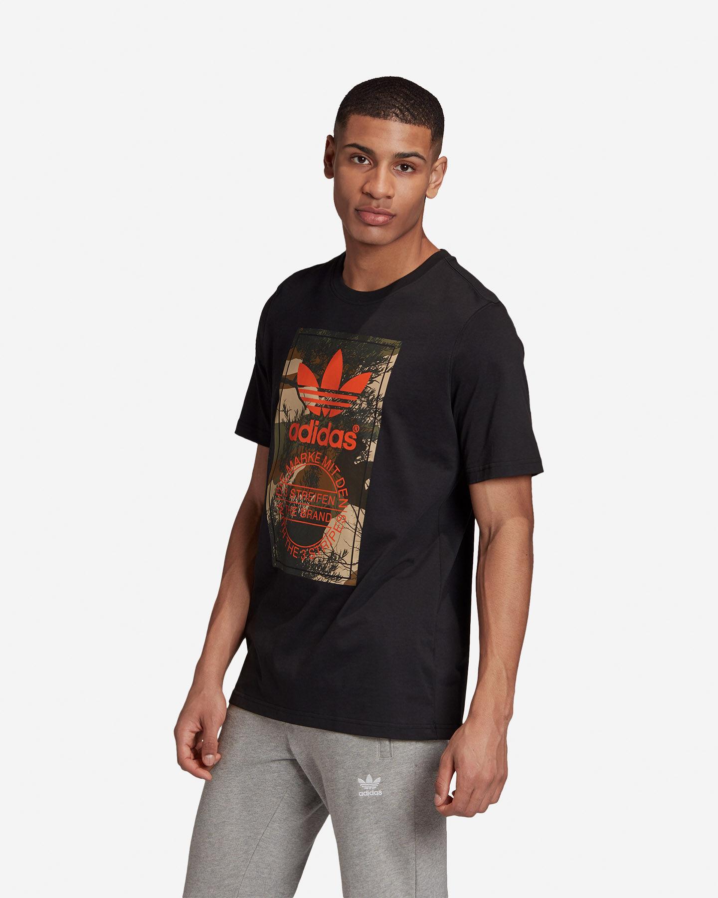 T-Shirt ADIDAS CAMO TONGUE M S5210681 scatto 3