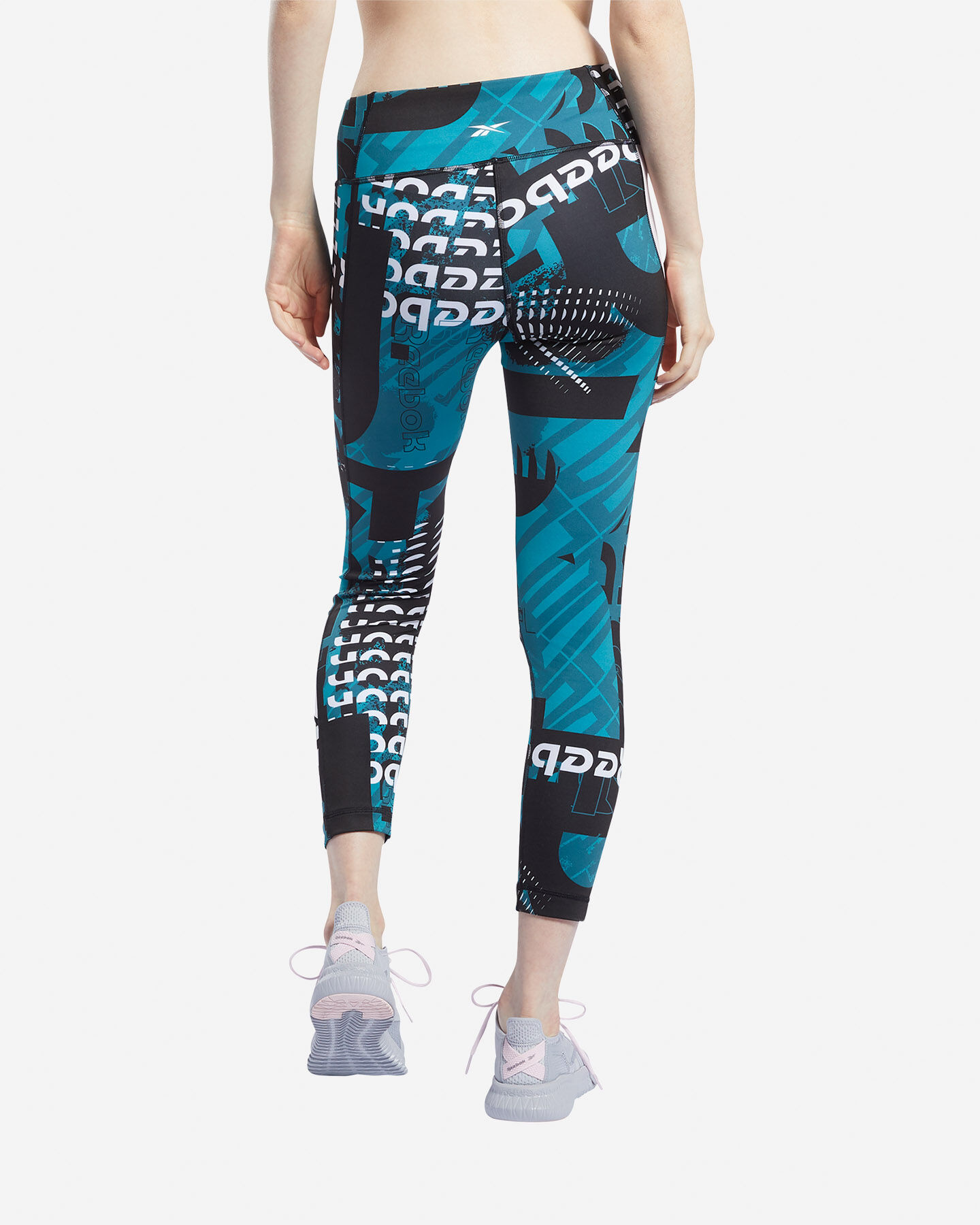 Leggings REEBOK MEET YOU THERE ALLOVER PRINT 7/8 W S5144857 scatto 3