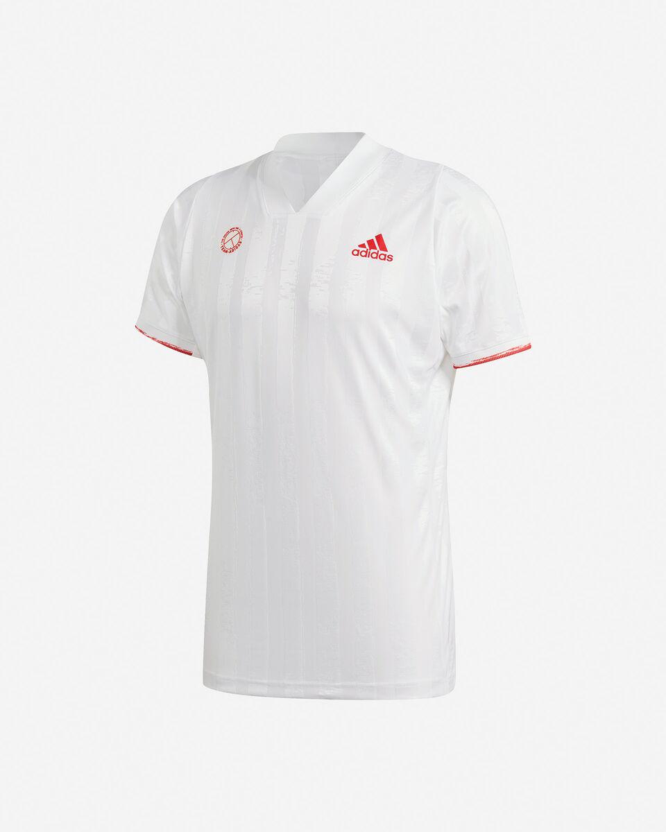 T-Shirt tennis ADIDAS FREELIFT AEROREADY M S5217536 scatto 0