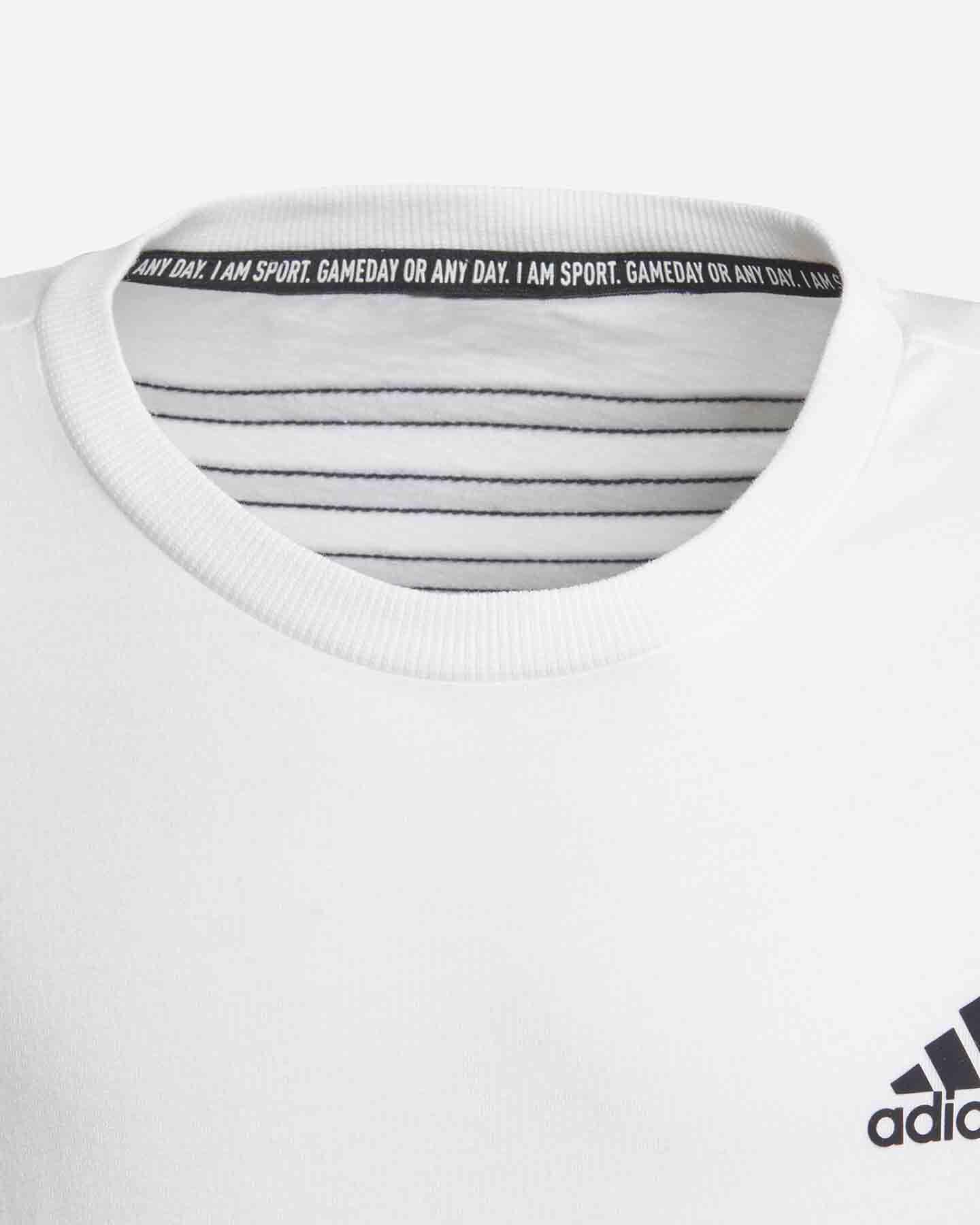 T-Shirt ADIDAS 3 STRIPES JR S5211691 scatto 3