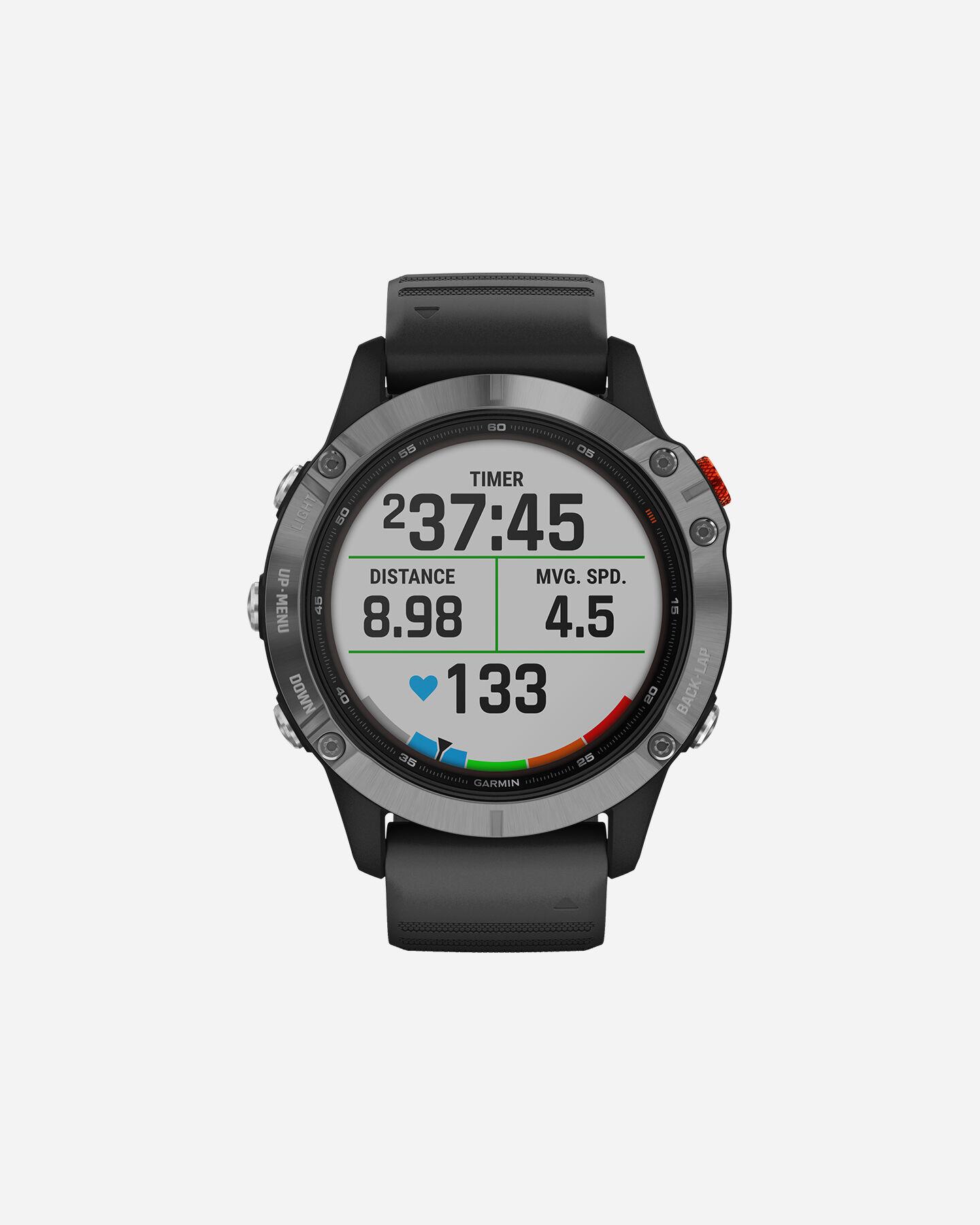 Orologio multifunzione GARMIN FENIX 6 SOLAR W S4086014 00 UNI scatto 0