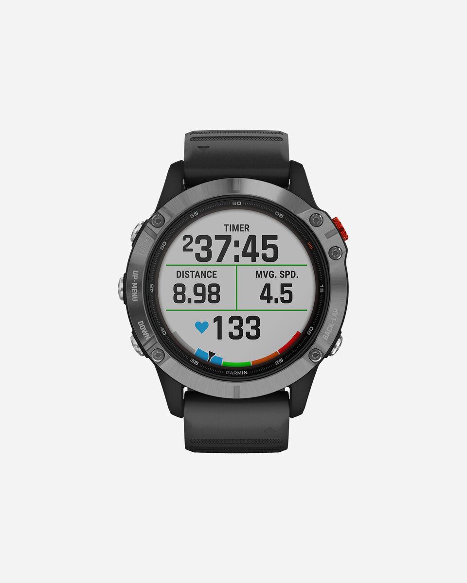 Orologio multifunzione GARMIN FENIX 6 SOLAR W S4086014|00|UNI scatto 0