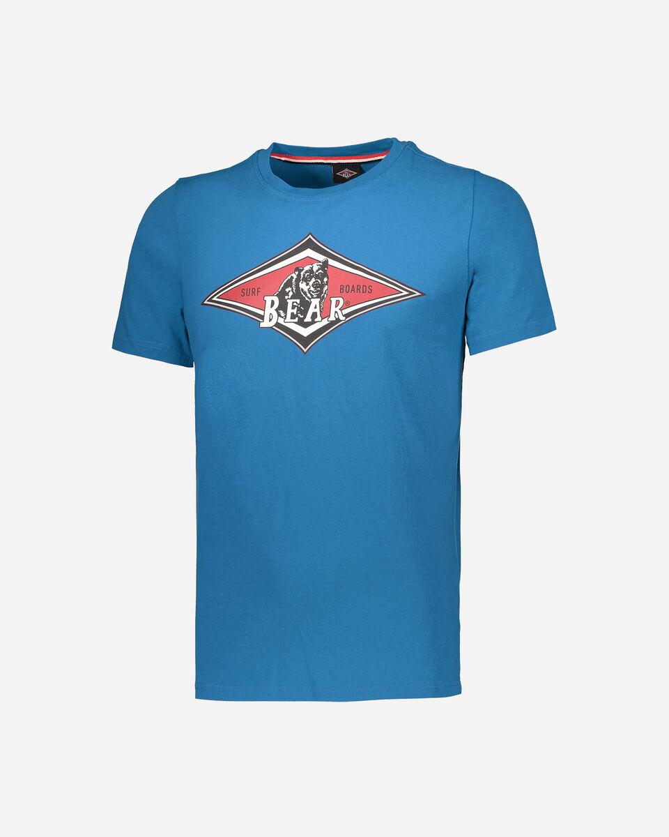 T-Shirt BEAR CLASSIC LOGO M S4065021|0824|L scatto 5