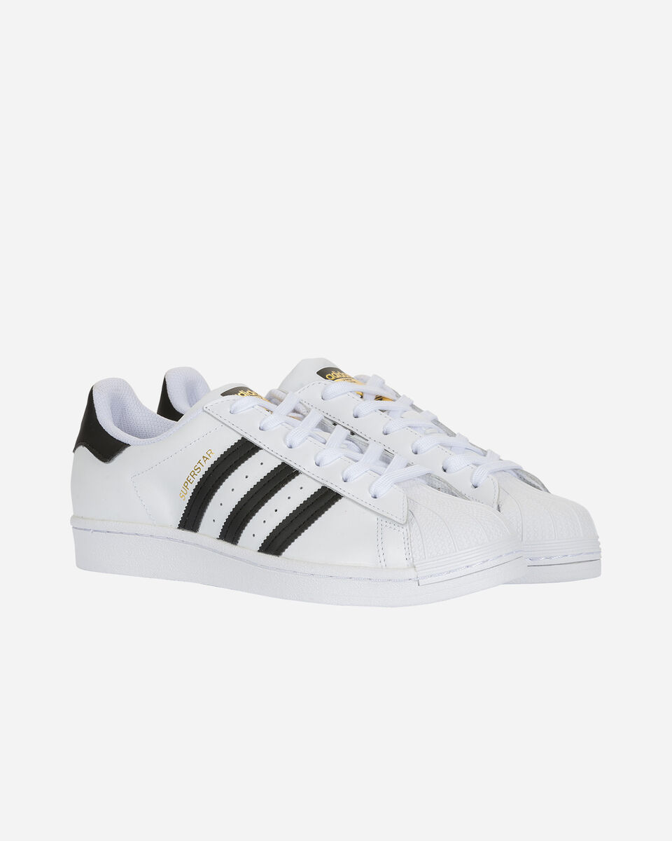 Scarpe sneakers ADIDAS SUPERSTAR GS JR S5150335 scatto 1