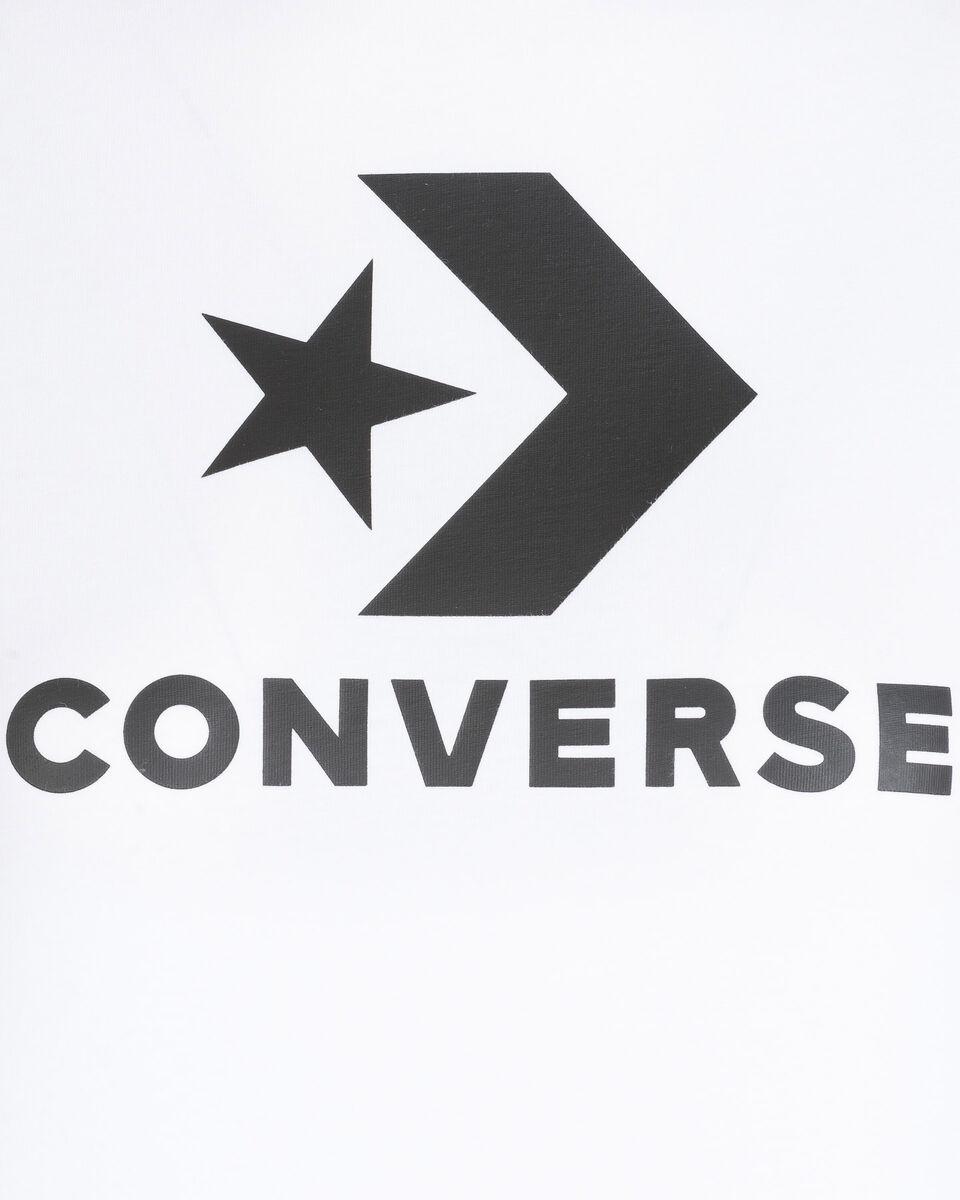 T-Shirt CONVERSE LOGO STAR CHEVRON W S5176853 scatto 2