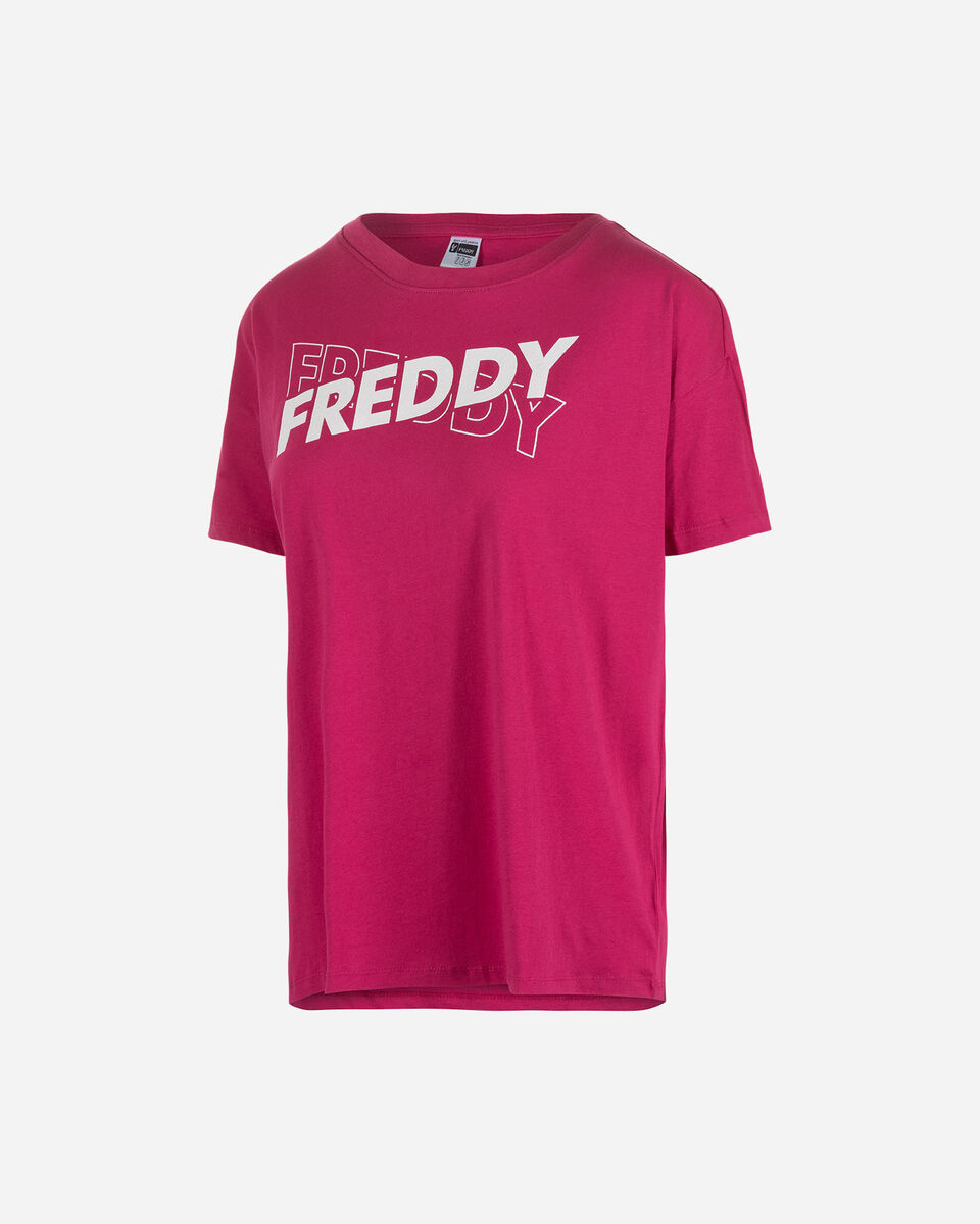 T-Shirt FREDDY BIG LOGO W S5118039 scatto 0