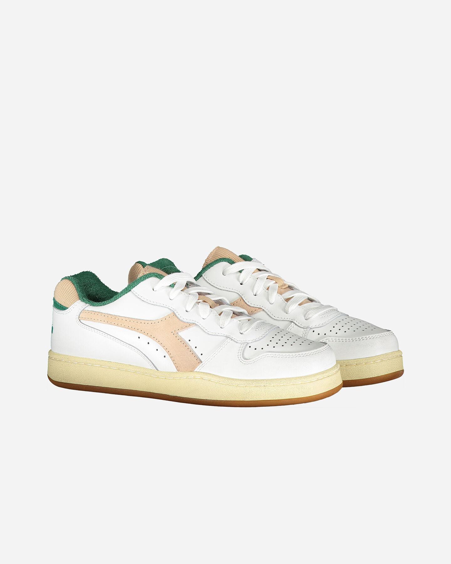 Scarpe sneakers DIADORA MI BASKET LOW USED WN W S5226855 scatto 1