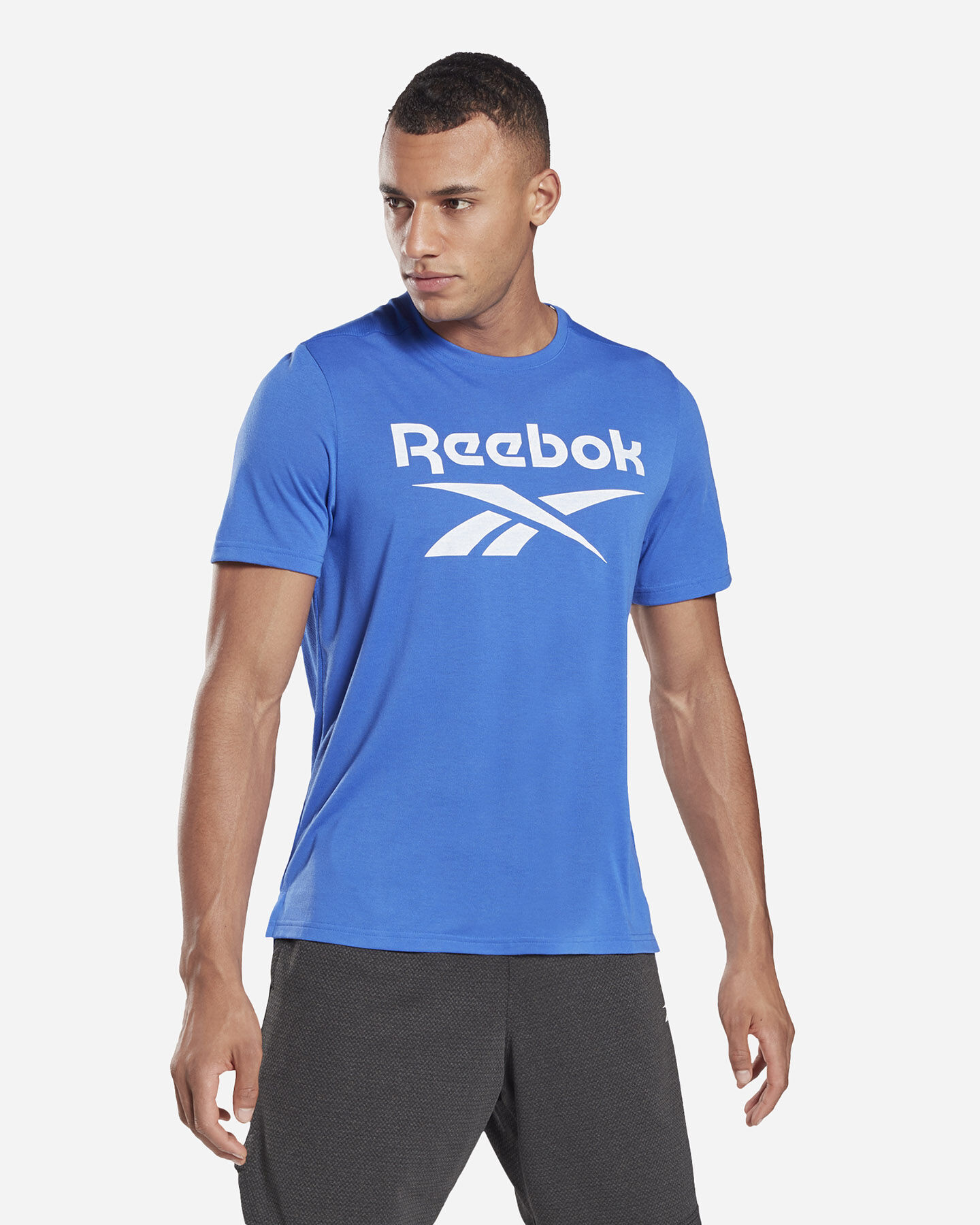 T-Shirt training REEBOK WORKOUT GRAPHIC M S5280252 scatto 2