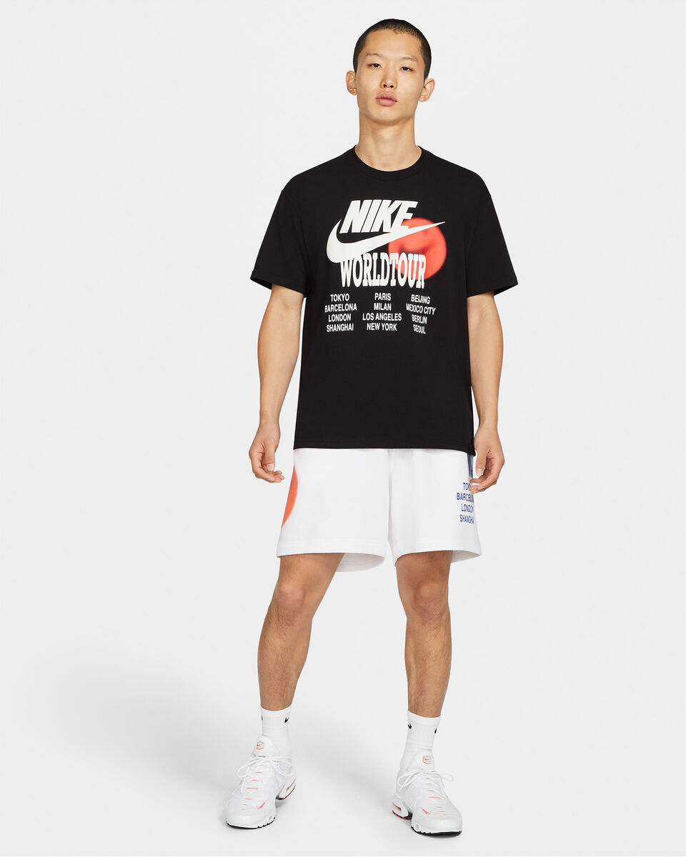 T-Shirt NIKE WTOUR GRAPHIC M S5267719 scatto 5
