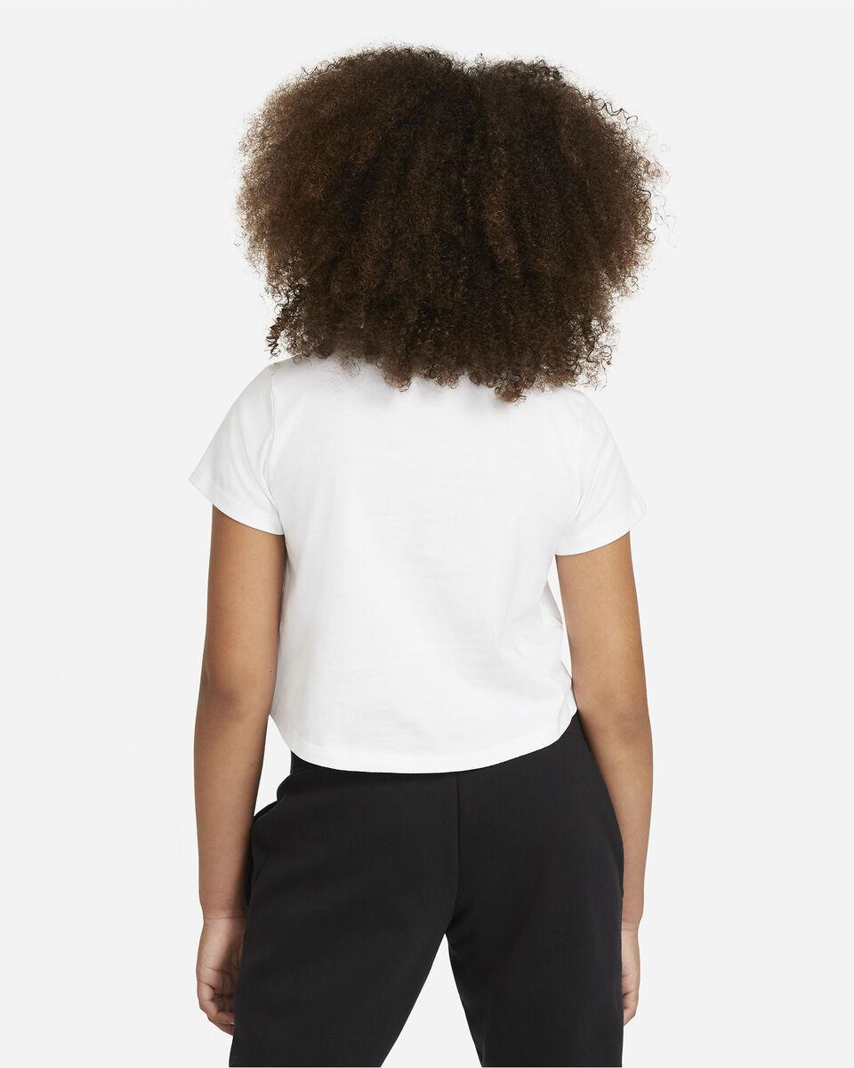 T-Shirt NIKE CROP FUTURA  JR S5270096 scatto 3