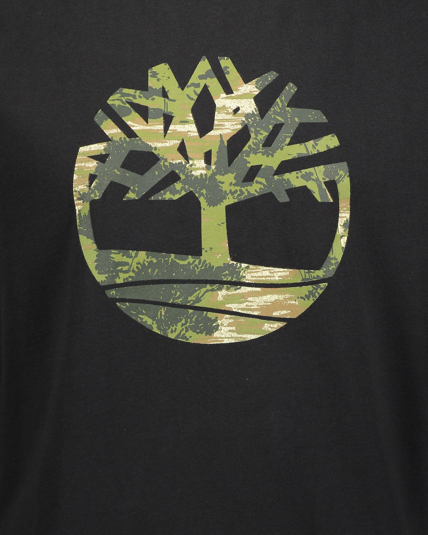 T-Shirt TIMBERLAND CAMO TREE M S4088649 scatto 2