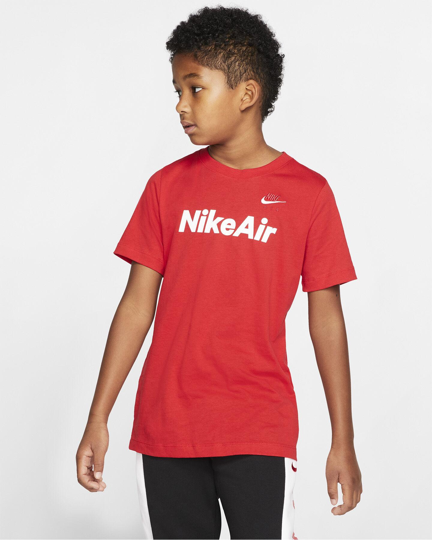 T-Shirt NIKE AIR LOG JR S5165230 scatto 2