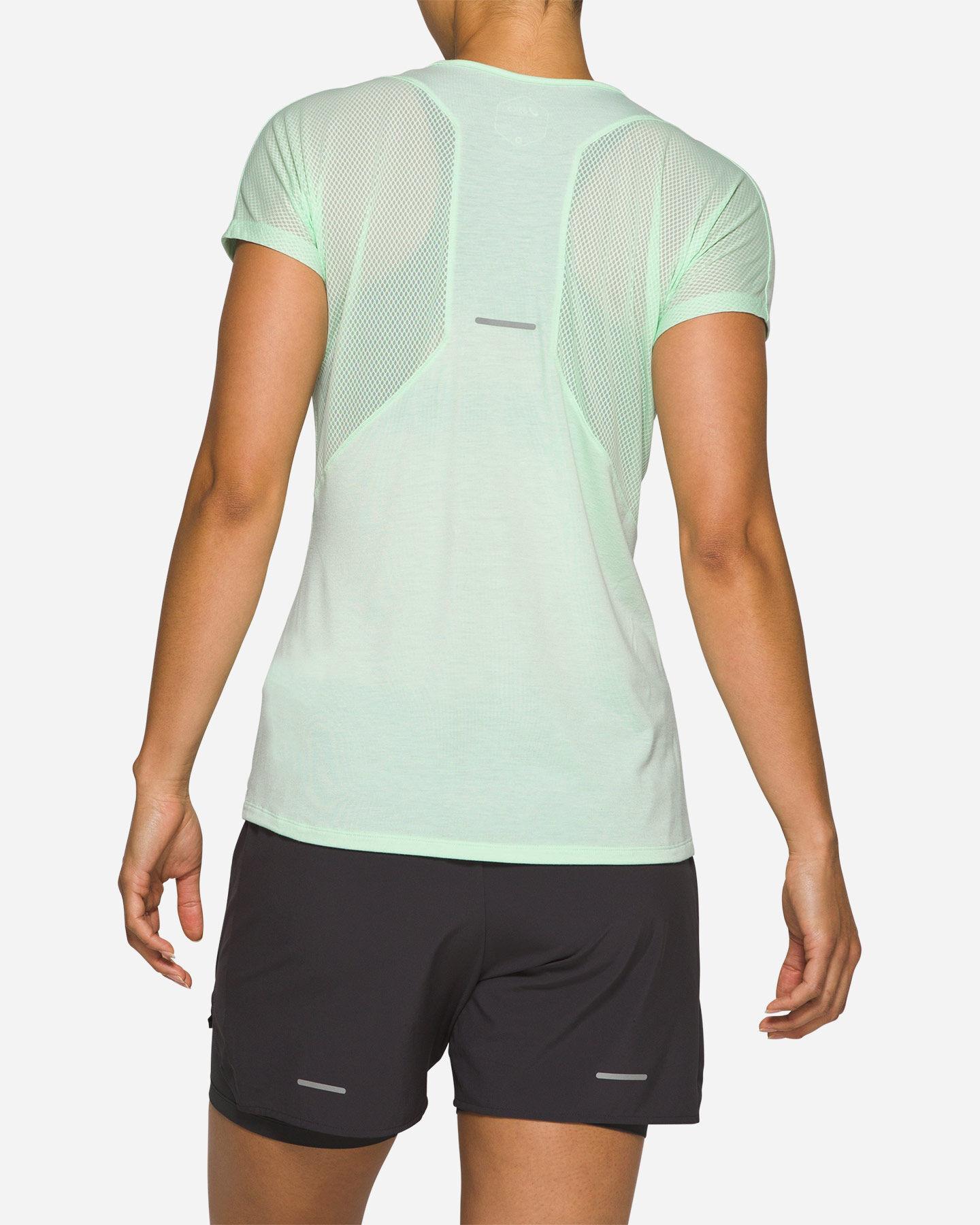 T-Shirt running ASICS V-NECK W S5287949 scatto 1