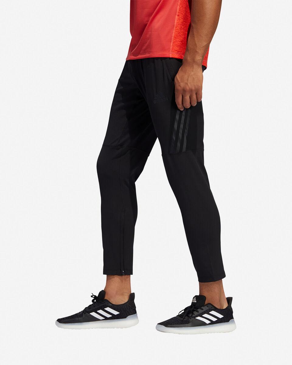 Pantalone training ADIDAS AEROREADY 3-STRIPES M S5154644 scatto 3