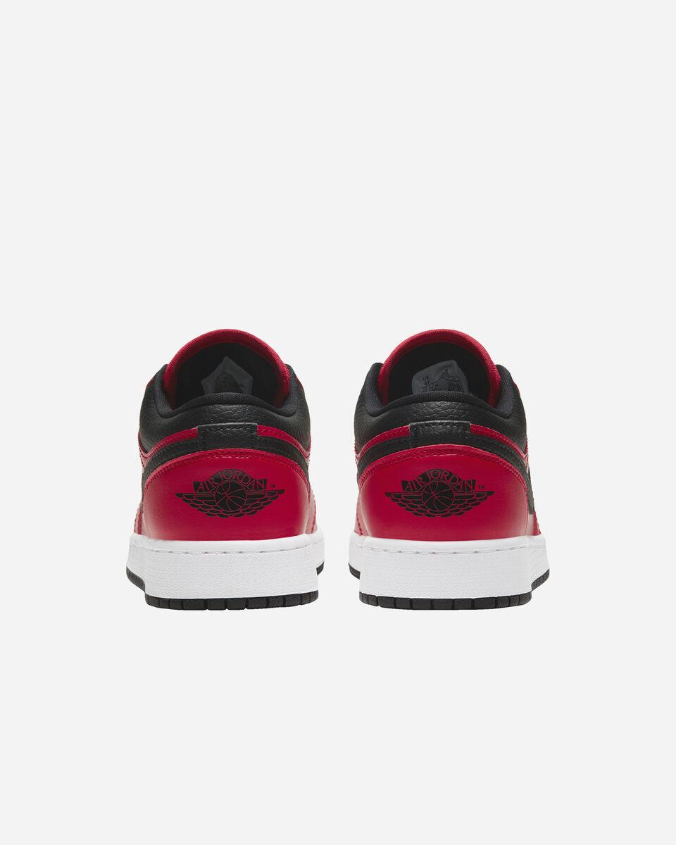 Scarpe sneakers NIKE AIR JORDAN 1 LOW GS JR S5270339 scatto 4