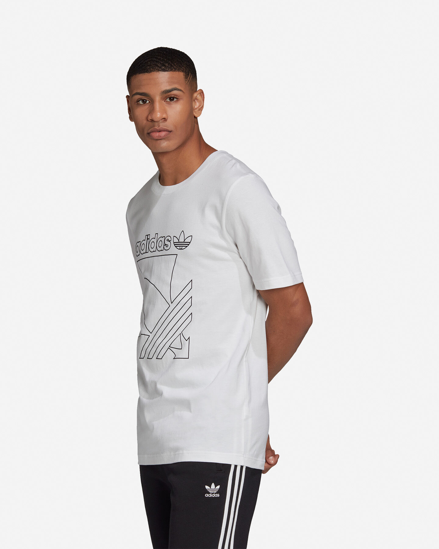 T-Shirt ADIDAS OUTLINE M S5210669 scatto 3