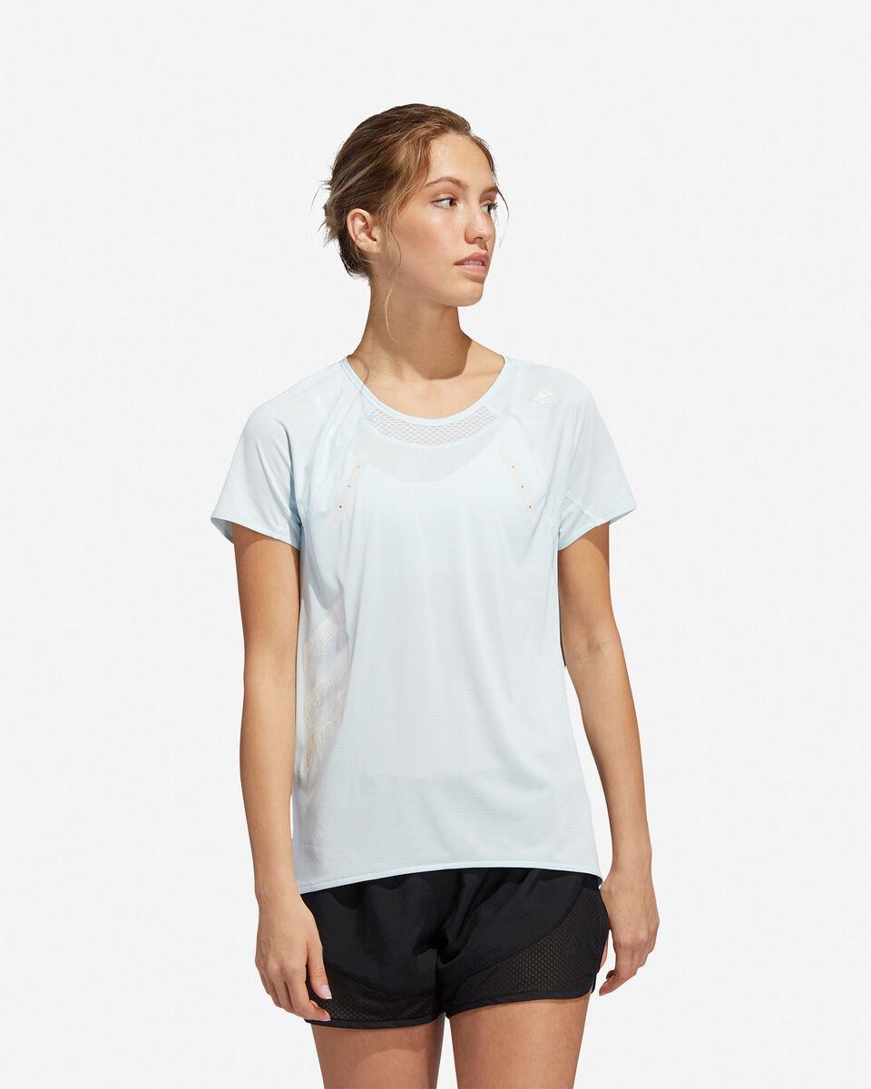 T-Shirt running ADIDAS HEAT.RDY W S5154889 scatto 2