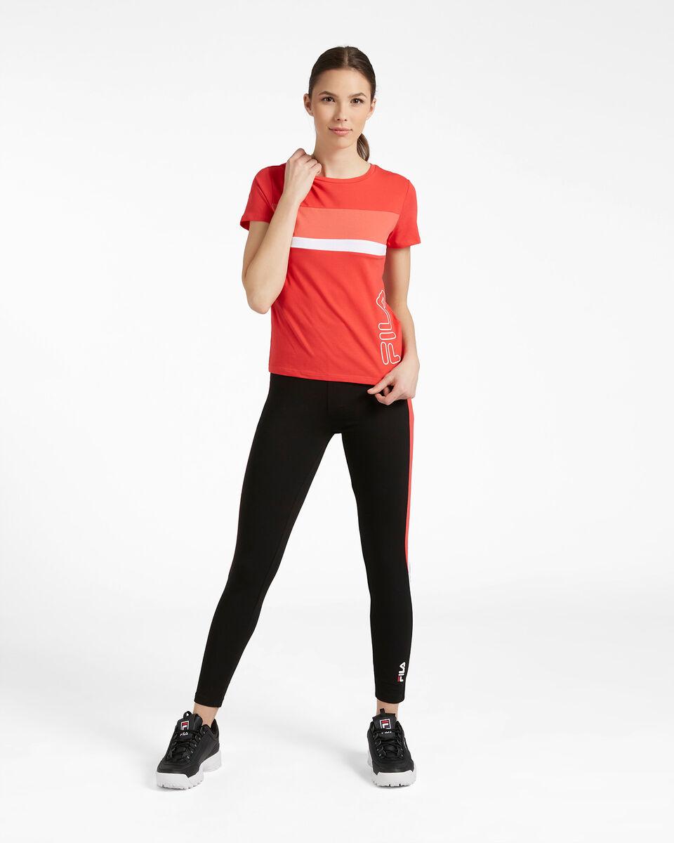 T-Shirt FILA REGULAR COLOR BLOCK W S4089715 scatto 1
