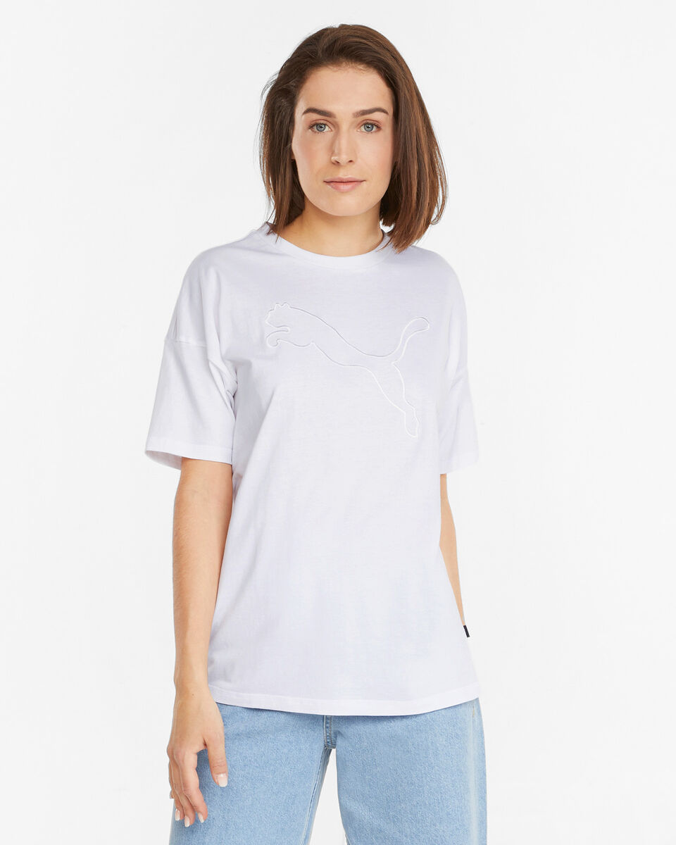 T-Shirt PUMA BLOGO CAT W S5334304 scatto 2