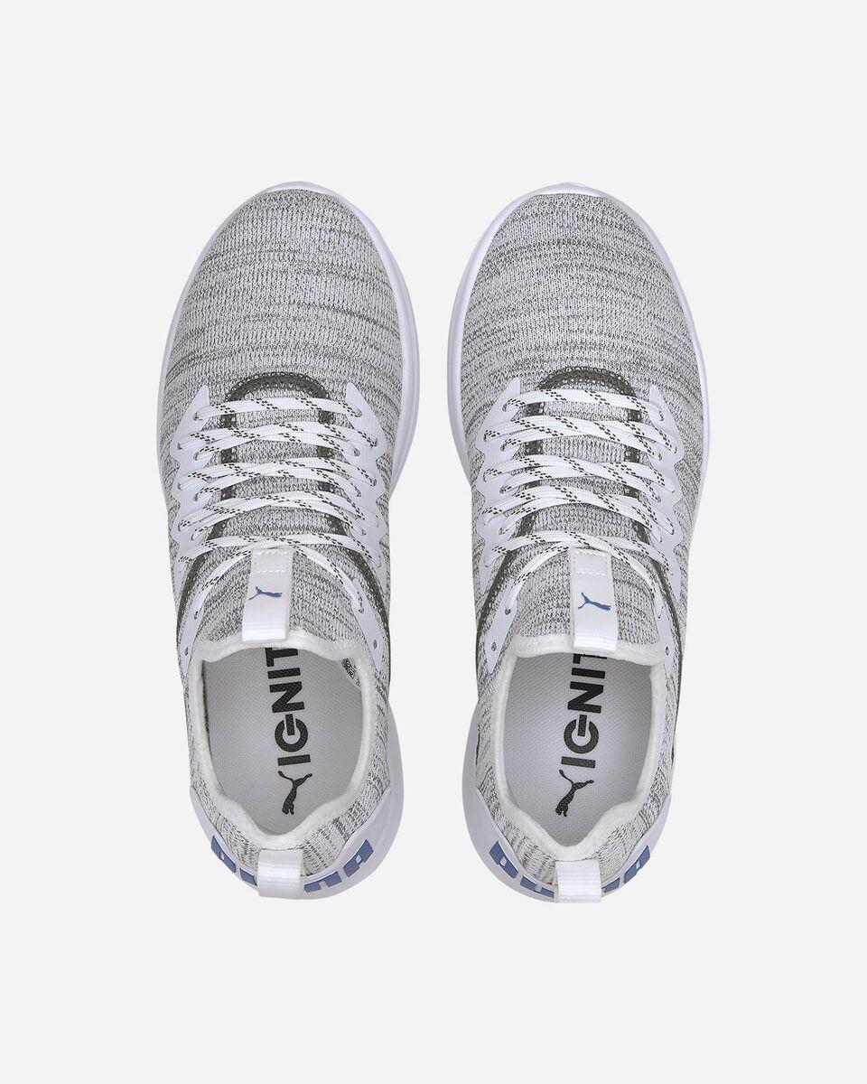 Scarpe sneakers PUMA IGNITE FLASH EVOKNIT M S5181432 scatto 3
